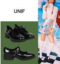 UNIF Clothing Street Style Plain Ballet Shoes