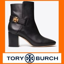 Tory Burch KIRA Rubber Sole Casual Style Leather Elegant Style