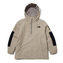 THE NORTH FACE WHITE LABEL Unisex Nylon Street Style Bi-color Plain Logo Anorak Jackets