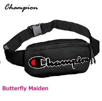 CHAMPION Casual Style Unisex Street Style Hip Packs