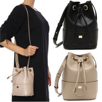 Salvatore Ferragamo Plain Leather Shoulder Bags