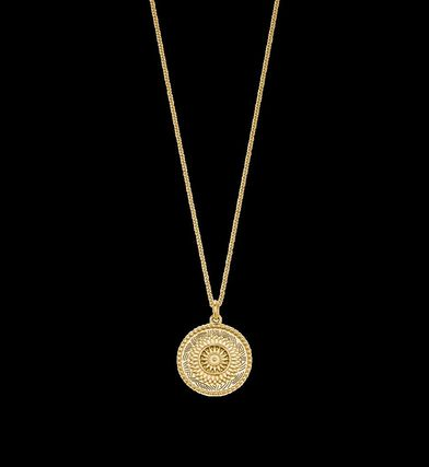 Casual Style Coin Party Style Necklaces & Pendants