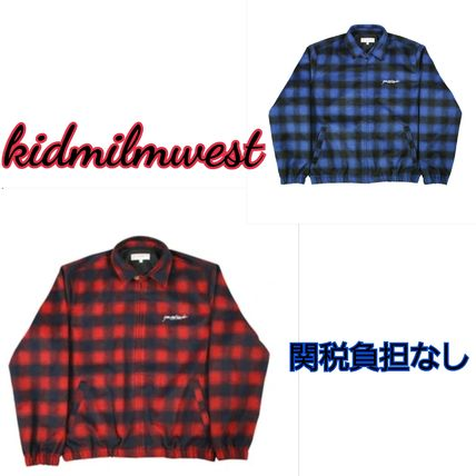Short Other Plaid Patterns Wool Jackets