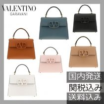 VALENTINO  VSLING Casual Style Calfskin 2WAY Chain Plain Party Style