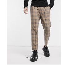 ASOS Tapered Pants Other Plaid Patterns Wool Tapered Pants