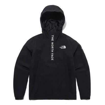 THE NORTH FACE Hoodies Unisex Street Style Long Sleeves Plain Logo Hoodies 2