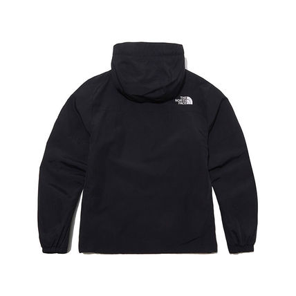 THE NORTH FACE Hoodies Unisex Street Style Long Sleeves Plain Logo Hoodies 3