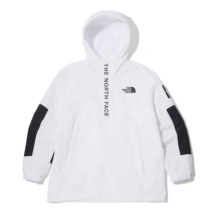 THE NORTH FACE Hoodies Unisex Street Style Long Sleeves Plain Logo Hoodies 8