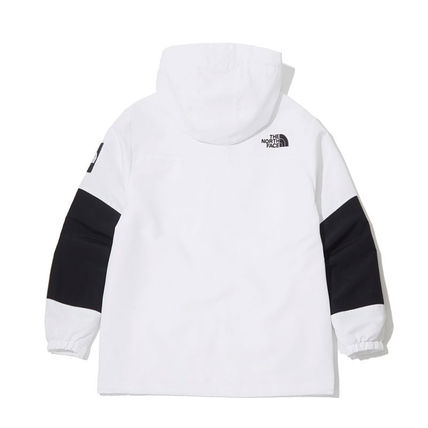 THE NORTH FACE Hoodies Unisex Street Style Long Sleeves Plain Logo Hoodies 9