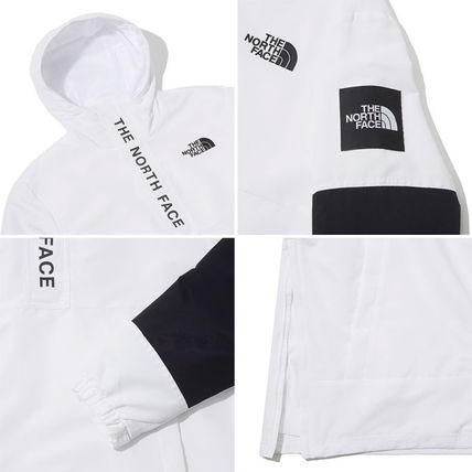 THE NORTH FACE Hoodies Unisex Street Style Long Sleeves Plain Logo Hoodies 10