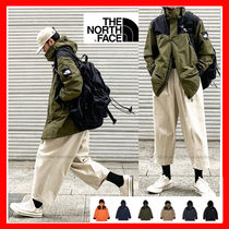 THE NORTH FACE WHITE LABEL Unisex Street Style Bi-color Plain Logo Jackets
