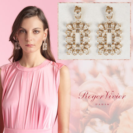 Blended Fabrics Party Style With Jewels Elegant Style