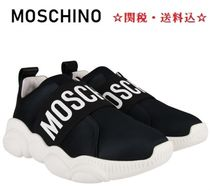 Moschino Platform Round Toe Casual Style Plain