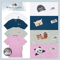 THE NORTH FACE WHITE LABEL Unisex Street Style Plain Other Animal Patterns Cotton