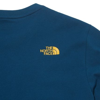 THE NORTH FACE More T-Shirts Unisex Street Style Plain Other Animal Patterns Cotton 12