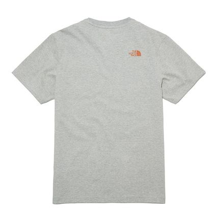 THE NORTH FACE More T-Shirts Unisex Street Style Plain Other Animal Patterns Cotton 14