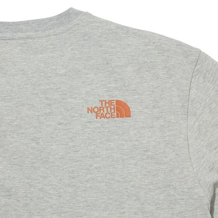 THE NORTH FACE More T-Shirts Unisex Street Style Plain Other Animal Patterns Cotton 16