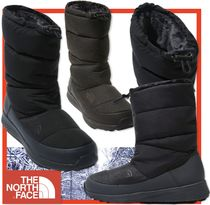 THE NORTH FACE Casual Style Street Style Mid Heel Boots