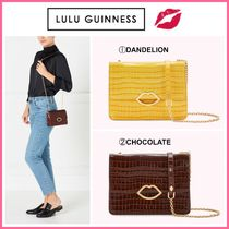 Lulu Guinness Leather Shoulder Bags