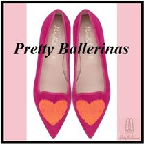 Pretty Ballerinas Casual Style Elegant Style Formal Style  Flats