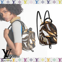 Louis Vuitton Camouflage Monogram Casual Style Street Style Collaboration