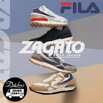FILA Casual Style Unisex Plain Low-Top Sneakers
