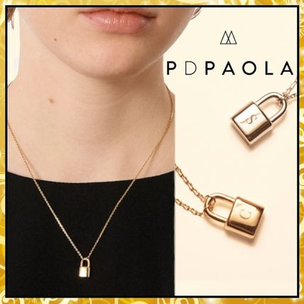 Casual Style Initial Chain Party Style Silver With Jewels