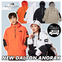 THE NORTH FACE WHITE LABEL Unisex Nylon Street Style Bi-color Plain Jackets