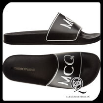 McQ Bi-color Plain Shower Shoes Shower Sandals