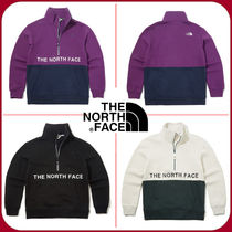 THE NORTH FACE Unisex Street Style Oversized Hoodies & Sweatshirts