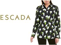 ESCADA Casual Style Cotton Party Style Office Style Elegant Style