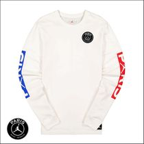 Nike AIR JORDAN Street Style Collaboration Long Sleeves Long Sleeve T-shirt