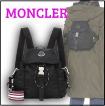 MONCLER Casual Style Nylon Plain Backpacks