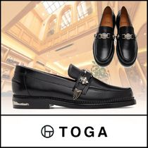 TOGA Loafers Plain Leather U Tips Loafers & Slip-ons