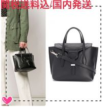 TOD'S Casual Style 2WAY Plain Leather Elegant Style Totes