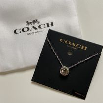 Coach Casual Style Party Style Silver Office Style Elegant Style
