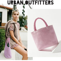 Urban Outfitters Casual Style Suede Plain Party Style Satchels