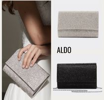 ALDO 2WAY Chain Party Style Elegant Style Clutches