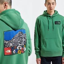 THE NORTH FACE Sweat Street Style Long Sleeves Logo Hoodies