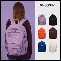 ncover Casual Style Unisex A4 Plain Backpacks