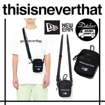 thisisneverthat Casual Style Unisex Street Style Shoulder Bags