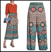 Alice+Olivia Printed Pants Casual Style Long Party Style Elegant Style