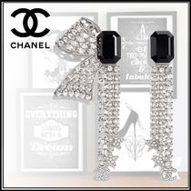 CHANEL Star Blended Fabrics Party Style Elegant Style Bridal