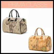 PRIMA CLASSE Leather PVC Clothing Totes