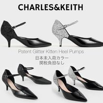 Charles&Keith Casual Style Faux Fur Party Style Elegant Style Shoes