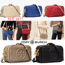 Tory Burch PERRY Casual Style Plain Leather Party Style Office Style