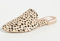 dolce vita Leopard Patterns Plain Toe Casual Style Office Style