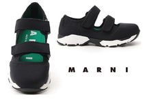 MARNI Rubber Sole Plain Low-Top Sneakers