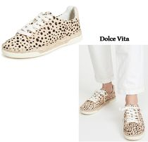 dolce vita Leopard Patterns Rubber Sole Casual Style Office Style