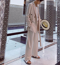 Blended Fabrics Street Style Oversized Two-Piece Sets